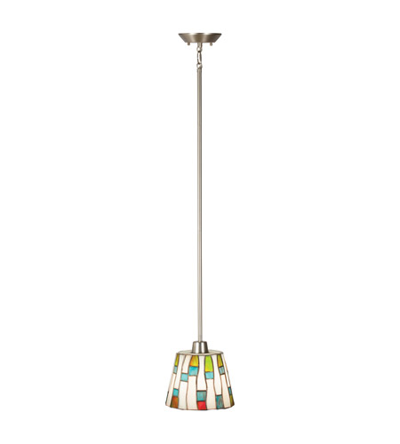 Kichler Lighting Carlisle 1 Light Mini Pendant in Brushed Nickel 65401