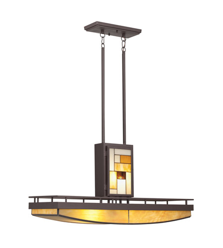Kichler Lighting Riverview 6 Light Chandelier in Olde Bronze 66051 photo