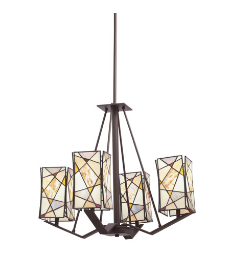 Kichler Lighting Signature 4 Light Chandelier in Olde Bronze 66059 photo