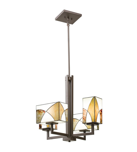 Kichler Lighting Elias 4 Light Chandelier in Olde Bronze 66073