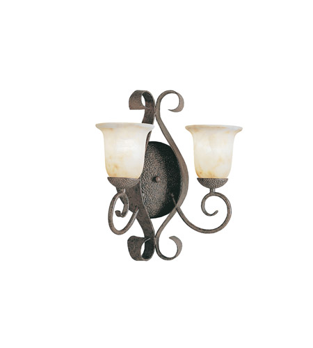Kichler Lighting High Country 2 Light Wall Sconce in Old Iron 6608OI photo
