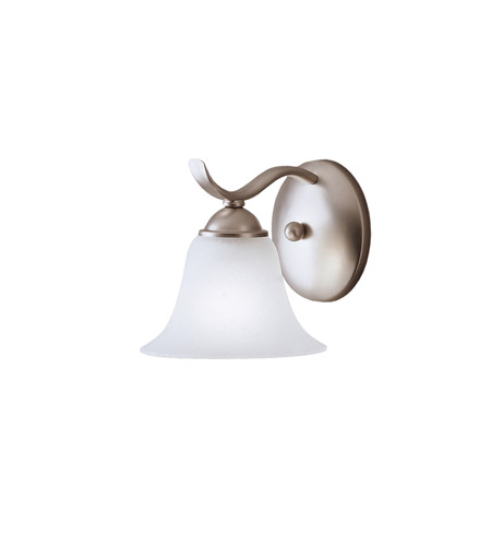 Kichler Lighting Dover 1 Light Wall Sconce in Brushed Nickel 6719NI