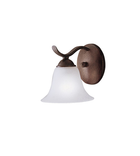 Kichler Lighting Dover 1 Light Wall Sconce in Tannery Bronze 6719TZ