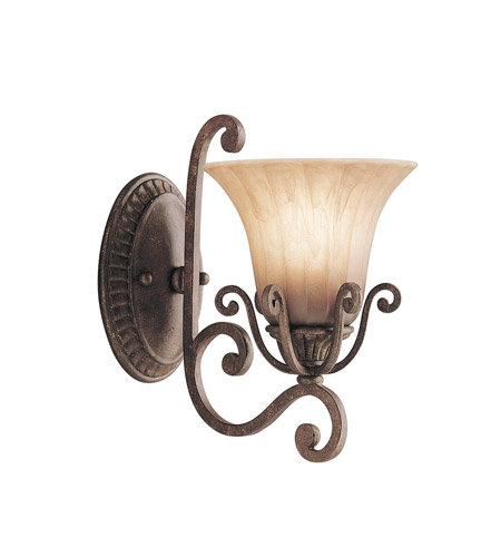 Kichler Lighting Cottage Grove 1 Light Wall Sconce in Carre Bronze 6857CZ photo