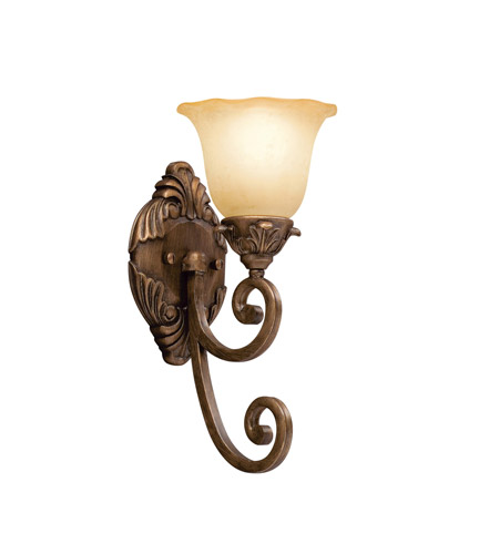 Kichler Lighting Cheswick 1 Light Wall Sconce in Parisian Bronze 6898PRZ photo