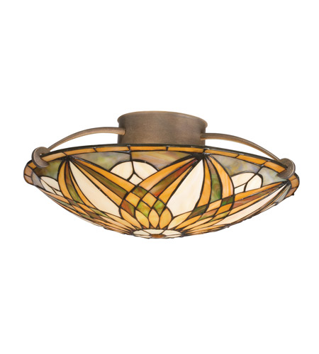 Kichler Lighting Sonora 3 Light Semi-Flush in Bronze 69030 photo