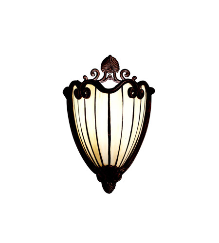 Kichler Lighting Clarice 1 Light Wall Sconce in Tannery Bronze w/ Gold Accent 69043 photo
