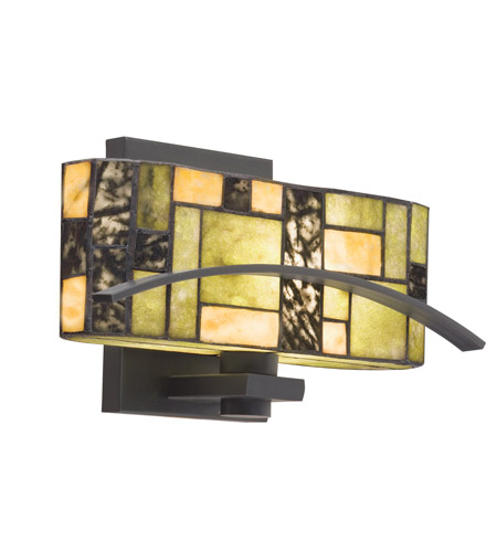 Kichler Lighting Bayonne 1 Light Wall Sconce in Satin Black 69092