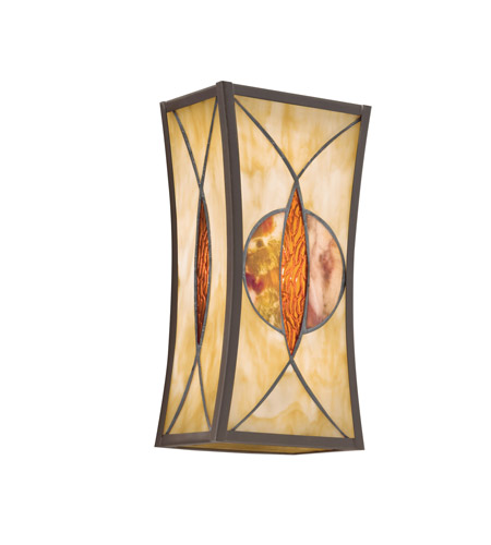 Kichler Lighting Cats Eye 1 Light Wall Sconce in Olde Bronze 69093