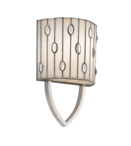 Kichler Lighting Cloudburst 1 Light Wall Sconce in Polished Nickel 69094 photo