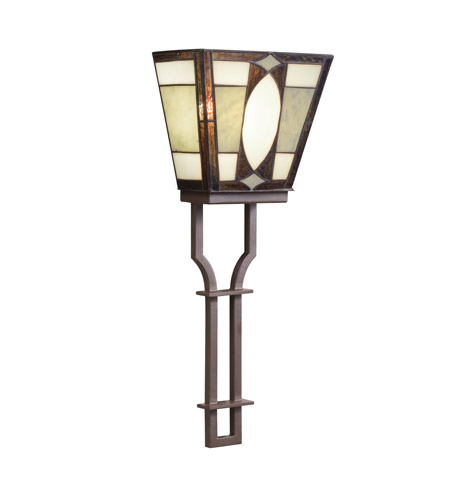 Kichler Lighting Denman 2 Light Wall Sconce in Olde Bronze 69121 photo