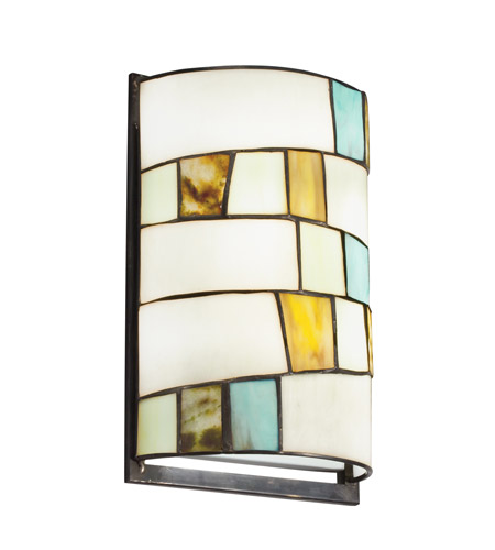 Kichler Lighting Mihaela 2 Light Wall Sconce in Shadow Bronze 69144 photo