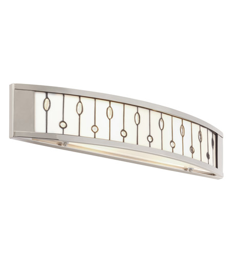 Kichler Lighting Cloudburst 2 Light Bath Vanity in Polished Nickel 69157 photo