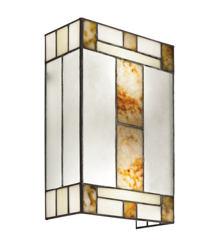 Kichler Lighting Bryce 2 Light Wall Lamp in Brushed Nickel 69163