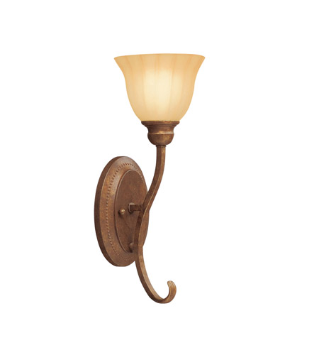 Kichler Lighting Northam 1 Light Wall Sconce in Lincoln Bronze 6923LBZ