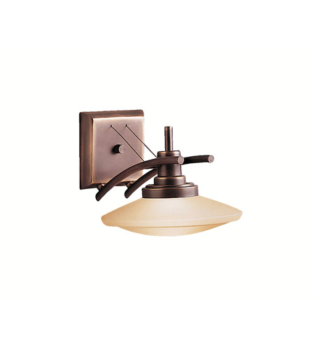 Kichler Lighting Structures 1 Light Wall Sconce in Olde Bronze 6963OZ