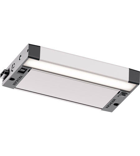 Kichler 6UCSK08NIT 6U Series LED LED 8 inch Nickel Textured Under Cabinet Lighting in 8in photo
