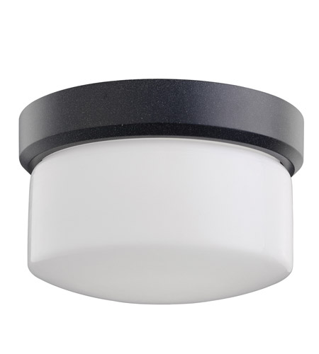 Kichler Lighting Lantana 1 Light Outdoor Flush Mount in Textured Granite 7002GNT