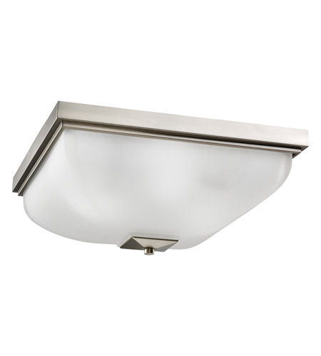 Kichler Lighting Outdoor Miscellaneous 4 Light Flush Mount in Brushed Nickel 7011NI