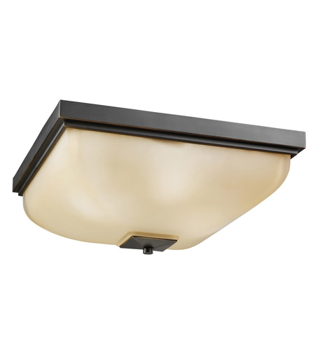 Kichler Lighting Outdoor Miscellaneous 4 Light Flush Mount in Olde Bronze 7011OZ photo