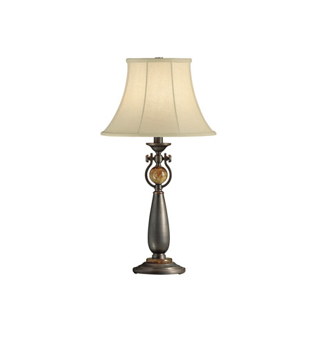 Kichler Lighting Seneca 1 Light Table Lamp in Copper Bronze 70296CA photo