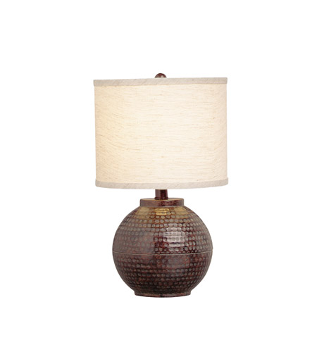 Kichler Lighting Missoula 1 Light Table Lamp in Bronze 70332CA