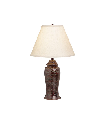 Kichler Lighting Missoula 1 Light Table Lamp in Bronze 70333CA