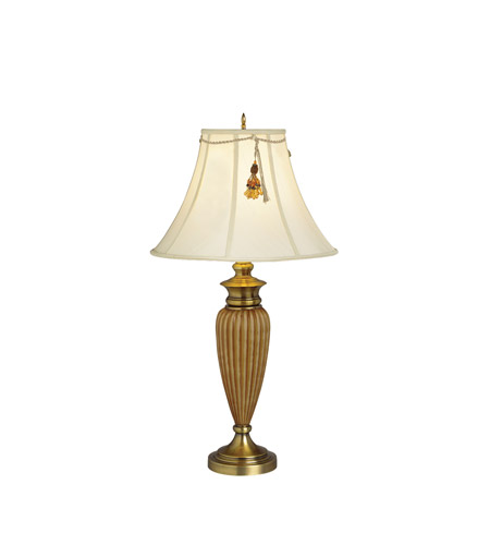 Kichler Lighting Raya 1 Light Table Lamp in Antique Brass 70335