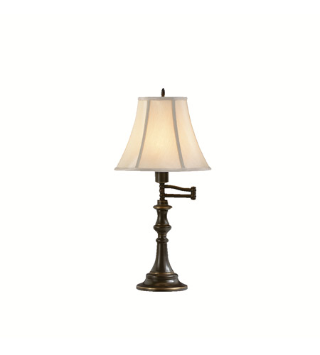 Kichler Lighting Clayton 1 Light Table Lamp in Bronze 70406CA photo