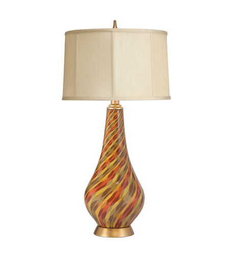 Kichler Lighting Urban Traditions Porcelain 1 Light Table Lamp in Hand Painted Porcelain 70559CA