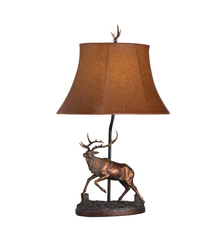 Kichler Lighting Dakota Ridge 1 Light Desk Lamp in Bronze 70636