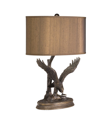 Kichler Lighting Dakota Ridge 1 Light Desk Lamp in Aged Bronze 70643