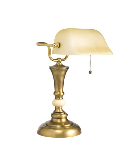 Kichler Lighting Kirketon 1 Light Desk Lamp in Antique Brass 70651 photo