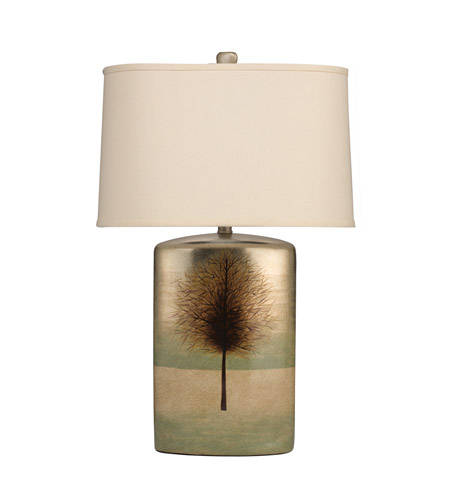 Kichler Lighting The Woodlands 1 Light Table Lamp in Hand Painted Porcelain 70690CA photo
