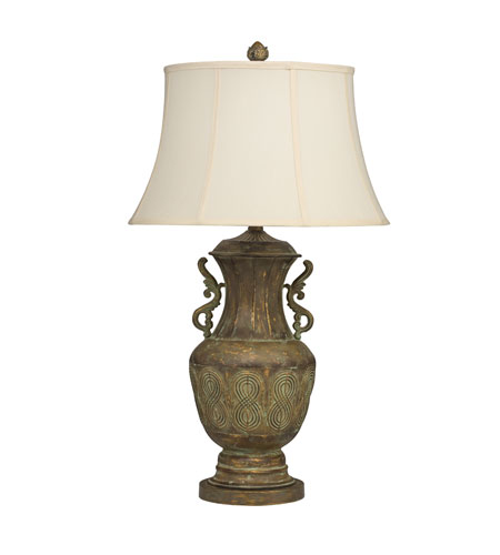 Kichler Lighting New Traditions Table Lamp 1Lt in Patina Brass 70700