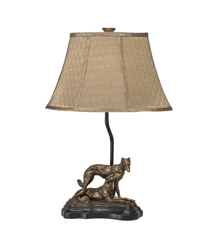 Kichler Lighting Dakota Ridge 1 Light Desk Lamp in Antique Bronze 70716