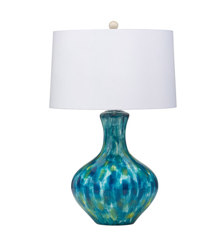 Kichler Lighting Blue Cascade 1 Light Table Lamp in Hand Painted Porcelain 70735 photo