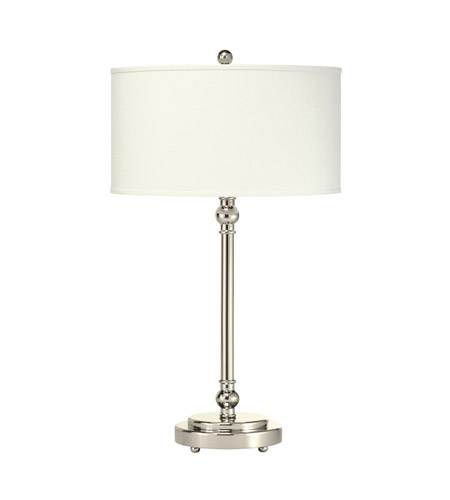 Kichler Lighting Andre 1 Light Table Lamp in Polished Nickel 70745 photo
