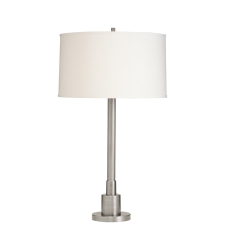 Kichler Lighting Robson 1 Light Table Lamp in Brushed Nickel 70749NI
