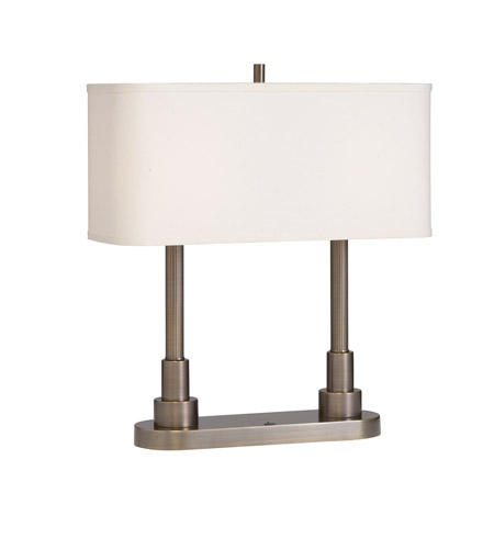 Kichler Lighting Robson 2 Light Desk Lamp in Oil Rubbed Bronze 70750ORZ photo