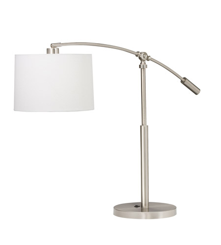 Kichler Lighting Cantilever 1 Light Table Lamp in Brushed Nickel 70756CA