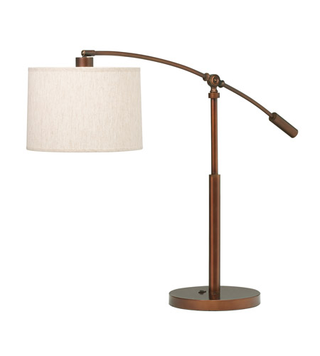Kichler Lighting Cantilever 1 Light Table Lamp in Burnish Copper Bronze 70756BCZCA