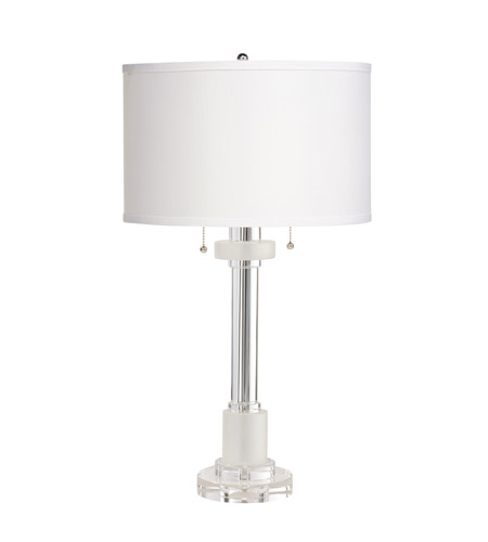 Kichler Lighting Signature 2 Light Table Lamp in Clear 70761CA