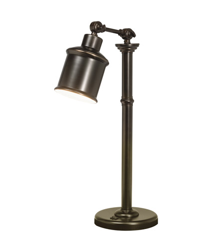 Kichler Lighting Signature 1 Light Desk Lamp in Bronze 70776CA photo