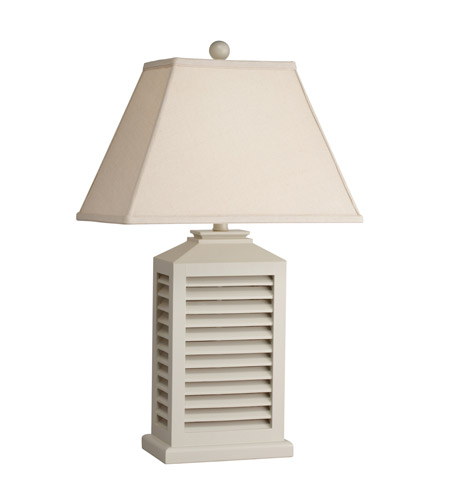 Kichler Lighting Cottage 1 Light Table Lamp in White 70790CA photo