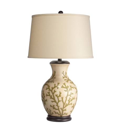 Kichler Lighting Key West 1 Light Table Lamp in Hand Painted Porcelain 70797