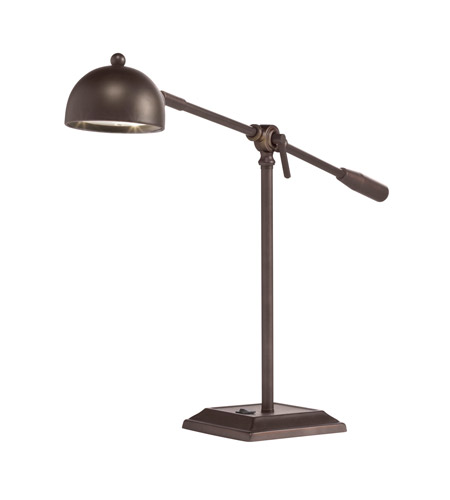 Kichler Lighting Signature Desk Lamp in Bronze 70817BZ