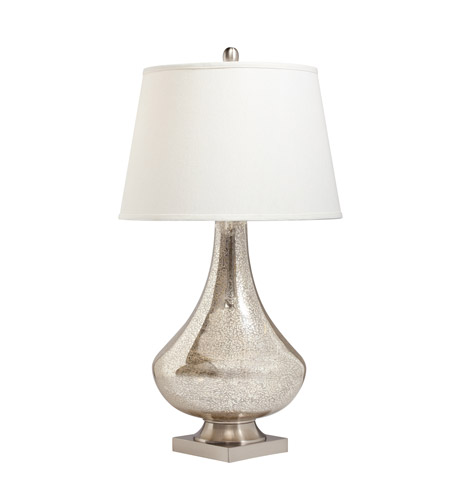 Kichler Lighting Signature 2 Light Table Lamp in Mercury Glass 70824