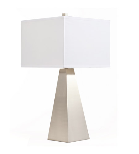 Kichler Lighting Signature 1 Light Table Lamp in Brushed Nickel 70827