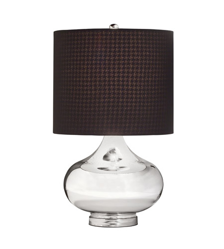 Kichler Westwood Obsidian 1 Light Table Lamp in Mercury Glass 70829CA photo